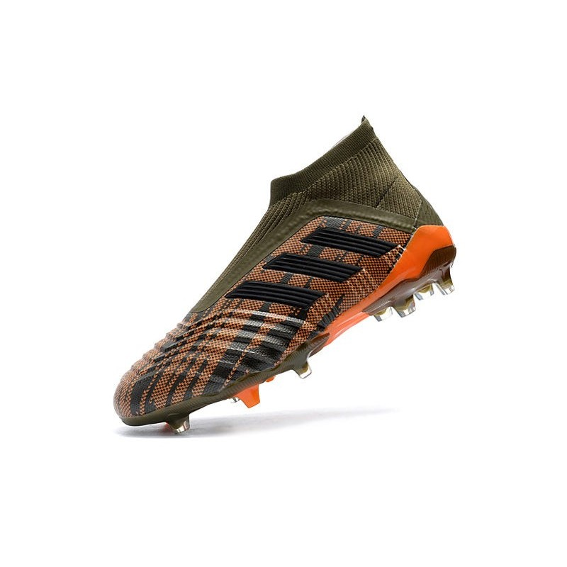 4f8d4c949b322 ... sale scarpe da calcio adidas predator 18 fg uomo verde arancio edeb0  d7ede