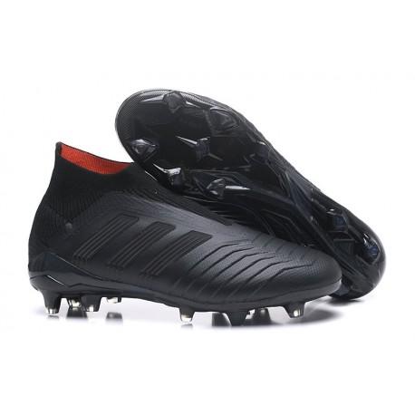 Scarpe da Calcio adidas Predator 18 + FG Uomo - Nero