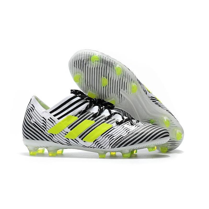 finest selection 6ea97 13e9c Scarpe Calcio adidas Nemeziz 17.1 FG - Nero Bianco Giallo