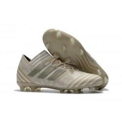 Scarpe Calcio adidas Nemeziz 17.1 FG - Bianco Oro