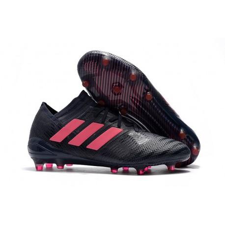 Scarpe Calcio adidas Nemeziz 17.1 FG - Nero Rosa