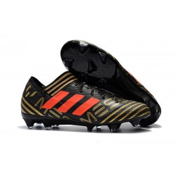 Scarpe Calcio adidas Nemeziz 17.1 FG - Nero Oro Arancio