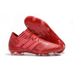 Scarpe Calcio adidas Nemeziz 17.1 FG - Rosso Rosa
