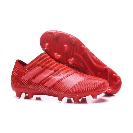 Scarpe adidas Nemeziz Messi 17+ 360 Agility Terreni Compatti - Rosso