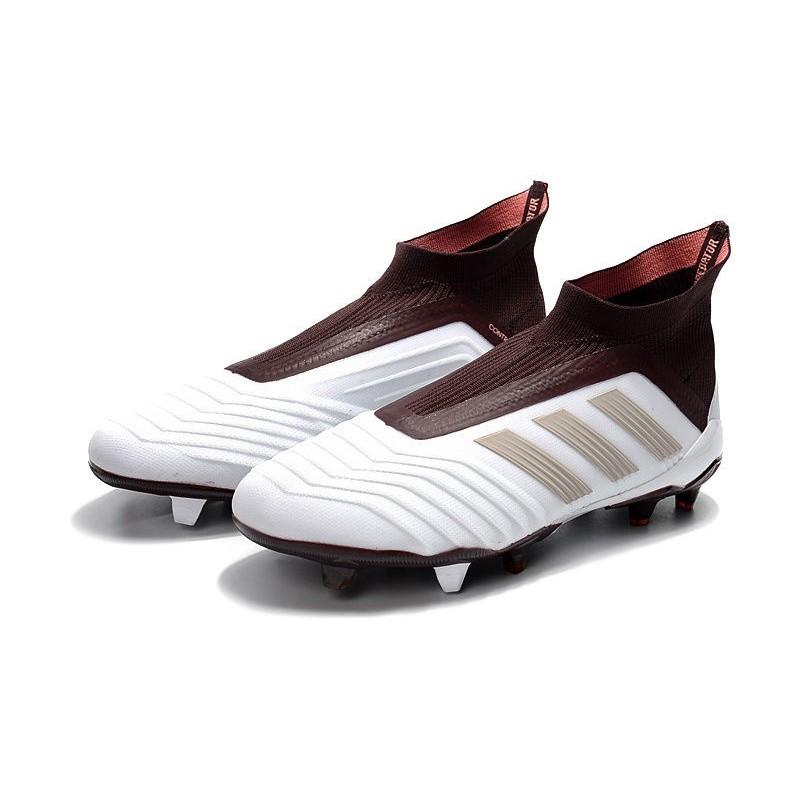 best website d84b3 0f5e6 Scarpe da Calcio adidas Predator 18 + FG Uomo - Bianco Marrone
