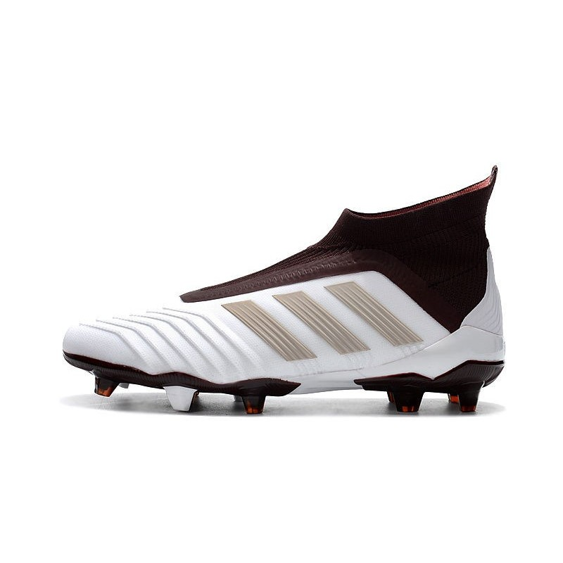 brand new 053e1 5d208 Scarpe da Calcio adidas Predator 18 + FG Uomo - Bianco Marro