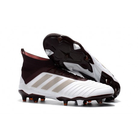 Scarpe da Calcio adidas Predator 18.1 FG Uomo - Blanco Marrón
