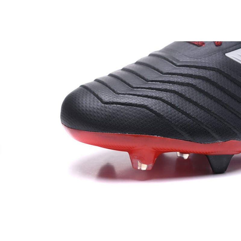 buy online c35bc 98cf9 adidas Predator 18.1 FG Nuovo Scarpa Calcio - Nero Rosso Bianco