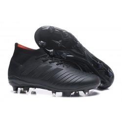 adidas Predator 18.1 FG Nuovo Scarpa Calcio - Tutto Nero
