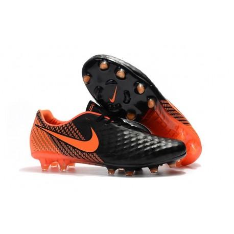 Nike Magista Opus 2 FG Scarpe da Calcetto - Nero Arancio
