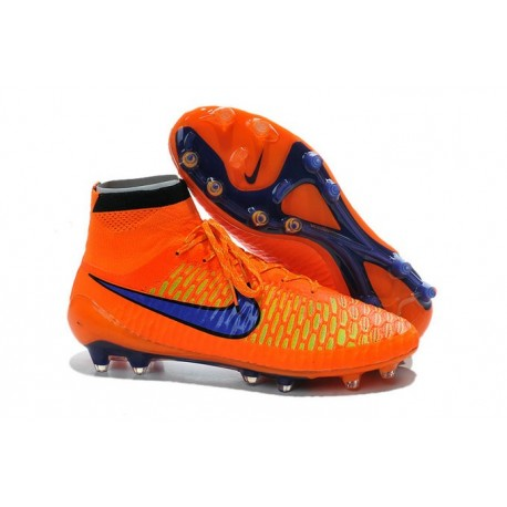 Scarpe da Calcio Uomo Nike Magista Obra FG Arancione Violetto