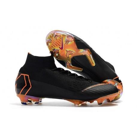 Scarpe da Calcio Nike Mercurial Superfly VI 360 Elite FG - Negro Naranja