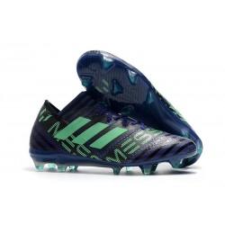 Scarpe Calcio adidas Nemeziz 17.1 FG - Blu Verde