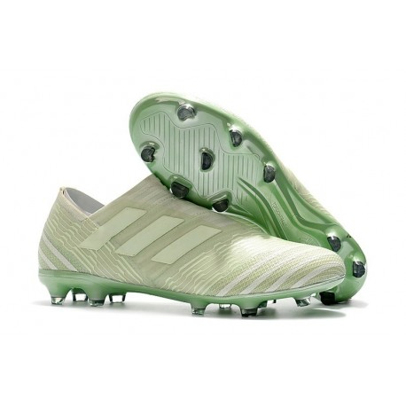 Scarpe adidas Nemeziz Messi 17+ 360 Agility Terreni Compatti - Verde