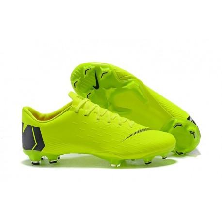 Scarpe calcio 2018 Nike Mercurial Vapor 12 Elite da adulto - Verde Nero