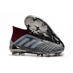 Paul Pogba adidas PP Predator 18+ FG Gris Rosso