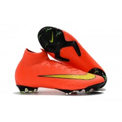 Nike Scarpa da Calcio 2018 Mercurial Superfly 6 Elite FG - Arancio Giallo