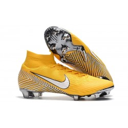 Neymar Nike Mercurial Superfly 6 Elite FG Nuovo Scarpe Calcio - Giallo