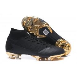 Nike Mercurial Superfly 6 Elite FG Nuovo Scarpe Calcio - Nero Oro