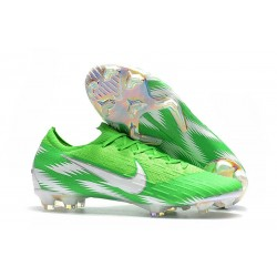 Scarpe calcio 2018 Nike Mercurial Vapor 12 Elite da adulto - Verde Argento