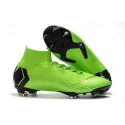 Nike Scarpe Mercurial Superfly VI Elite FG - Verde Negro