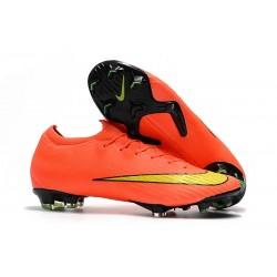 Scarpe calcio 2018 Nike Mercurial Vapor 12 Elite da adulto - Arancio Giallo