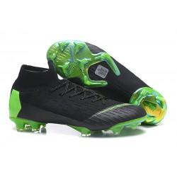 Nike Scarpe Mercurial Superfly VI 360 Elite FG - Nero Verde