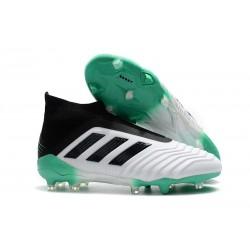 Scarpe da Calcio adidas Predator 18 + FG - Bianca Verde Nero