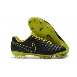 Nike Tiempo Legend 7 FG Nuovo Scarpa da Calcio - Negro Amarillo