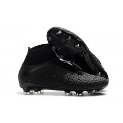 Scarpe da Calcio Terreni Compatti Nike Hypervenom Phantom III DF FG - Nero Argento
