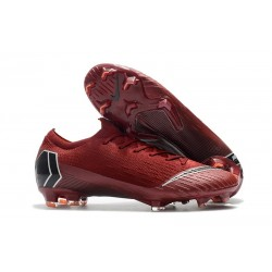 Nike Mercurial Vapor 12 Elite ACC Scarpe da Calcio - Rosso Nero