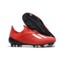 adidas X 18+ FG Scarpe da Calcio - Rosso Argento