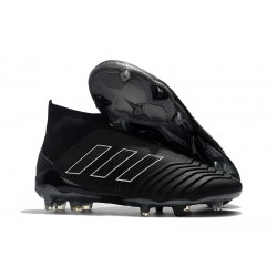 Scarpe da Calcio adidas Predator 18 + FG - Nero