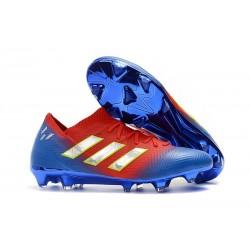 Coppa del Mondo 2018 adidas Nemeziz Messi 18.1 FG - Rosso Blu Metallico