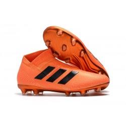 Adidas Scarpe da Calcio Nemeziz 18+ FG - Arancio Nero