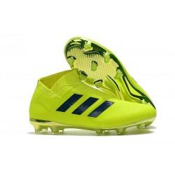 Adidas Scarpe da Calcio Nemeziz 18+ FG - Verde Nero