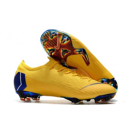 Los Angeles prezzo base confrontare il prezzo Nike Mercurial Vapor 12 Elite ACC Scarpe da Calcio - Giallo Blu