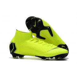 Nike Mercurial Superfly 6 DF Elite FG Scarpa - Volt Nero