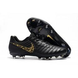Scarpa da Calcio Nike Tiempo Legend VII Elite FG - Nero Oro