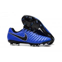 Scarpa da Calcio Nike Tiempo Legend VII Elite FG - Blu Nero