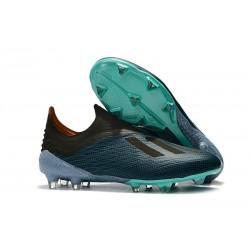 adidas X 18+ FG Scarpe da Calcio - Blu Nero