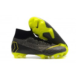 Nike Mercurial Superfly 6 DF Elite FG Scarpa - Nero Giallo