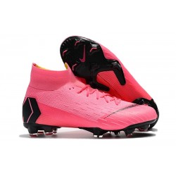 Nike Mercurial Superfly 6 DF Elite FG Scarpa -Rosa Nero