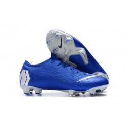 Nike Scarpa Uomo Mercurial Vapor XII Elite FG - Blu Argento