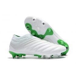 adidas Copa 19+ FG Nuovo Scarpe da Calcio - Bianco Verde
