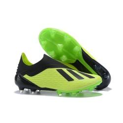 adidas X 18+ FG Scarpe da Calcio - Verde Nero