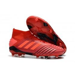 adidas Predator 19.1 FG Scarpa da Calcio - Rosso