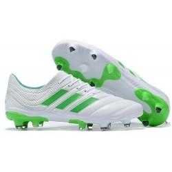 Scarpe da Calcio adidas Copa 19.1 FG - Bianco Verde