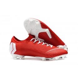 Nike Scarpa Uomo Mercurial Vapor XII Elite FG - Rosso Bianco