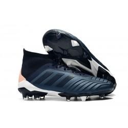 adidas Predator 18.1 FG Nuovo Scarpa Calcio - Ciano Nero